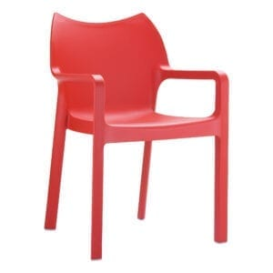 Beak Arm Chair - Red
