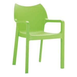 Beak Arm Chair - Tropical Green