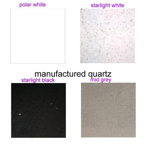 Marble or Quartz Tops