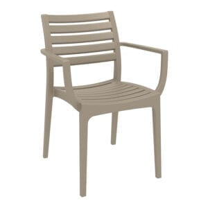 Realm Arm Chair - Taupe