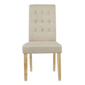 Rewer Chair Beige (Pack of 2)
