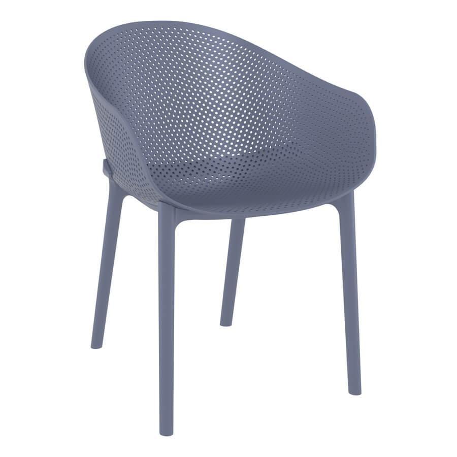 Skillet Armchair - Dark Grey