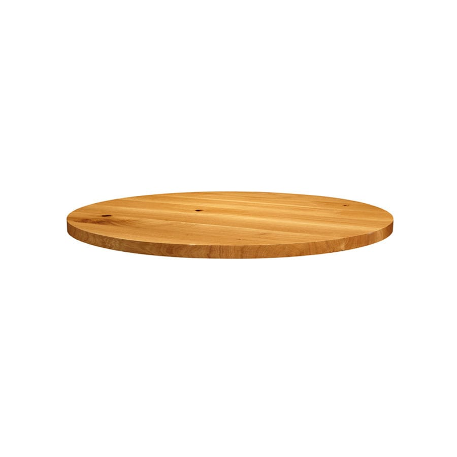 Natura Lacquered Character Oak - 120cm dia (Round)