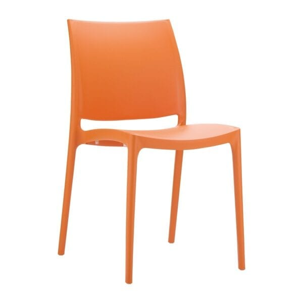 Spek Side Chair - Orange