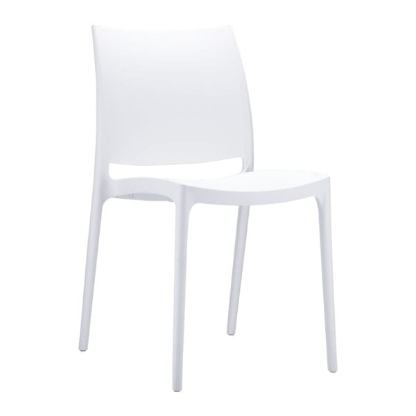 Spek Side Chair - White