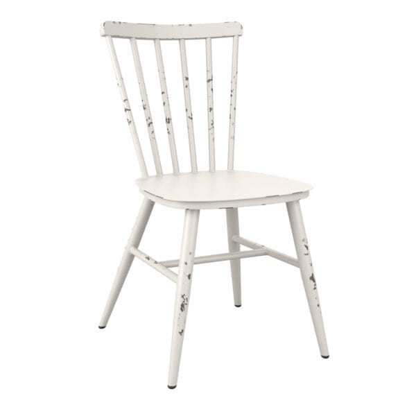 Spindle Side Chair - Reto White