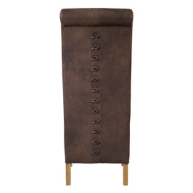 Revcer Chair Brown (Pack of 2)