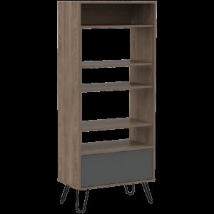 Vetty display bookcase with door