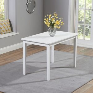 Cocheston Solid Hardwood Painted 115cm Kitchen Dining Table