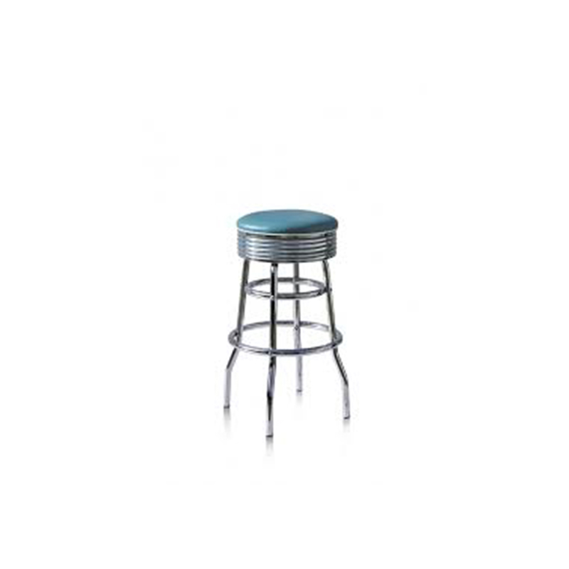 Zupone Retro Fifties Retro Style Swivel Kitchen Breakfast Barstool