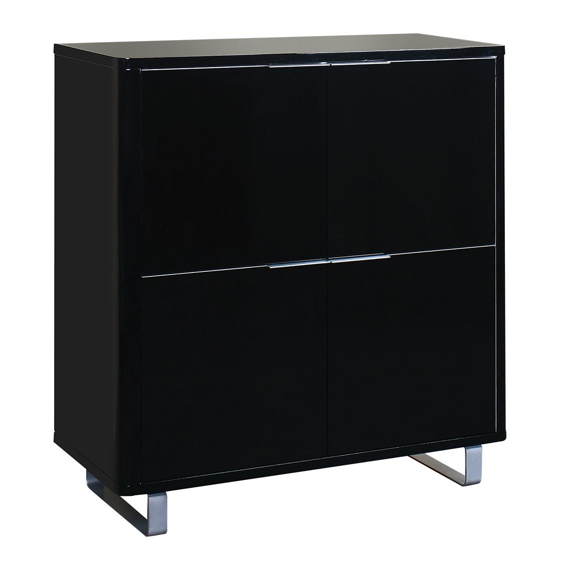 Accord 4 Drawer Storage Unit Black