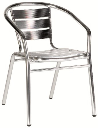 Ast Aluminium Stacking Chair - Outdoor