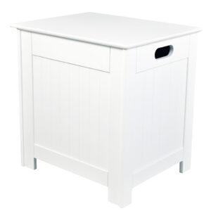 Alorta Laundry Cabinet White