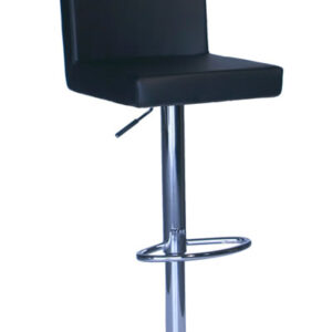 Alosbi Brushed Bar Stool Padded Seat - Cream