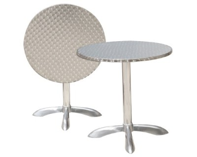 Rana Aluminium Table - Round Flip Top Folding Table
