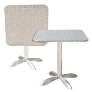 Rana Aluminium Table - Square