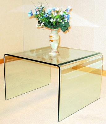 Anckor Clear Lamp Table