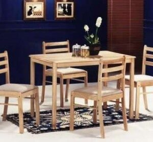 Atila Beech Table - Rectangle