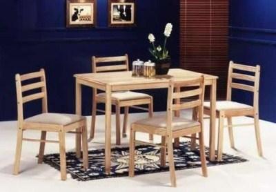 Atila Beech Table - Rectangle