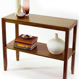 Staylon Walnut Console Table
