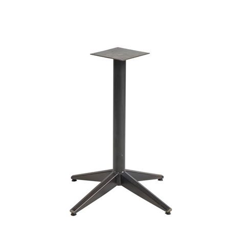 Arnold Commercial Quality Indoor Dining Height Steel Bases - Fully Assembled - 6 Seater
