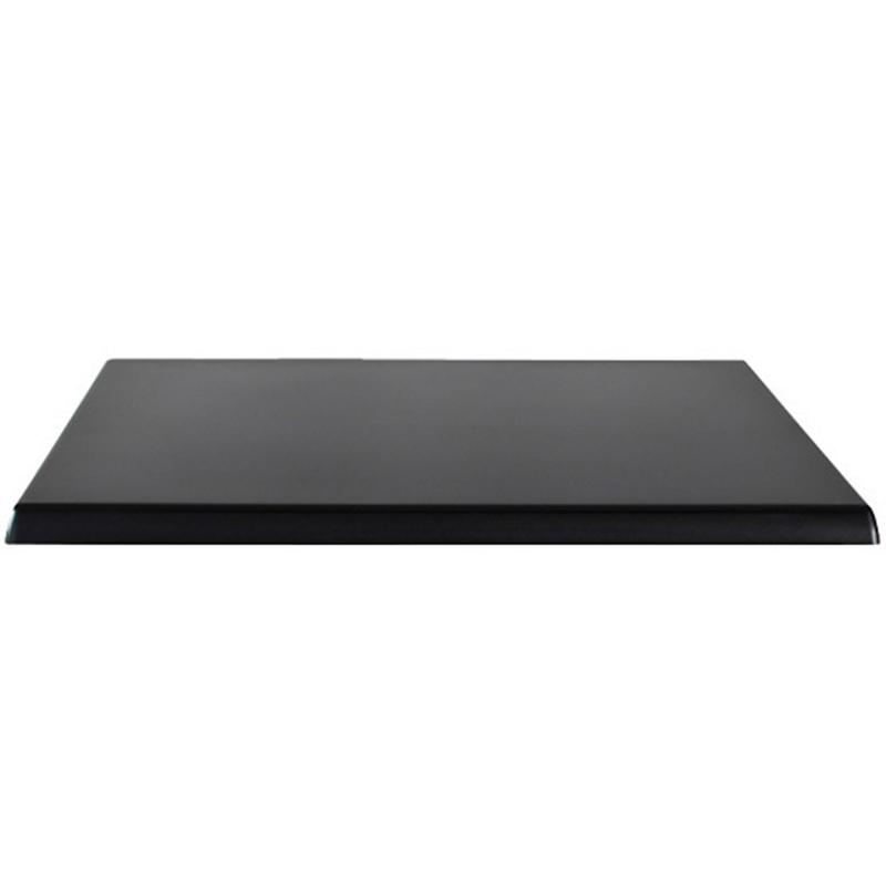 Atraos German Quality Square Table Top - Black