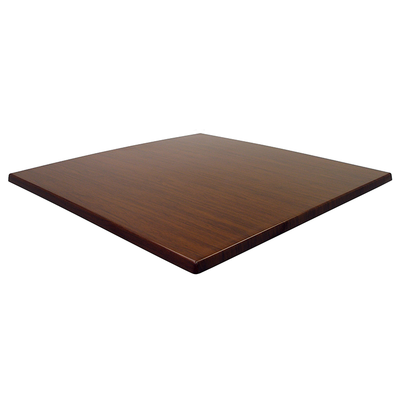 Atraos German Quality Square Table Top - Italian Walnut