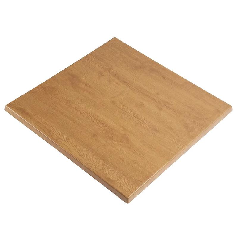 Atraos German Quality Square Table Top - Oak - 800 x 800 mm