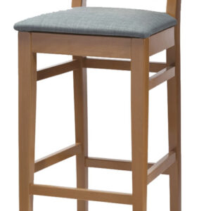 Auron Wood Frame Quality Bar Stool Design Your Own Stool Choose Your Own Colour And Fabric Materials Fully Assembled
