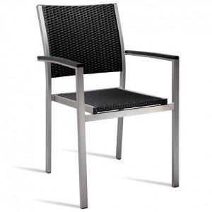 Zanidu Outdoor Aluminium Stackable Armchair