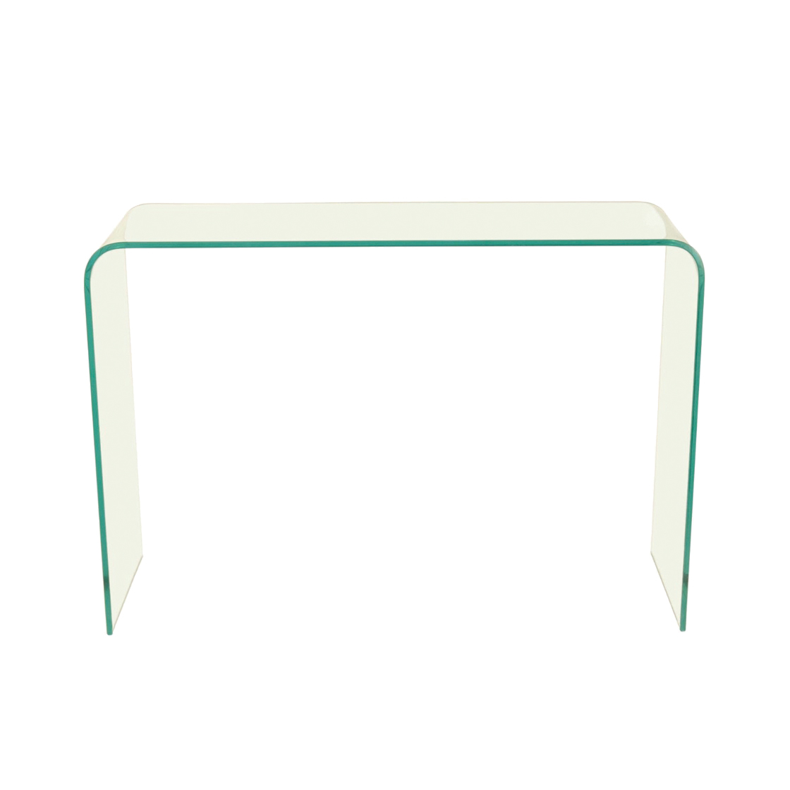 Arrow Console Table Glass