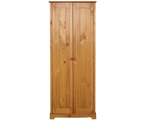 Balsam Pine 2 Door Wardrobe