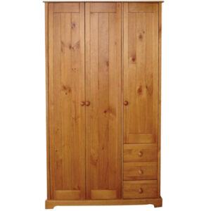 Balsam Pine 3 Door Wardrobe