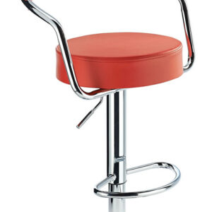 Astra Padded Kitchen Stool Height Adjustable Swivel Seat 6 Colours