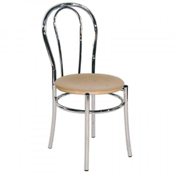 Brind Italian Kitchen Dining Chair Faux Leather Seat