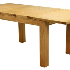 Brason Large Extending Solid Oak Dining Table