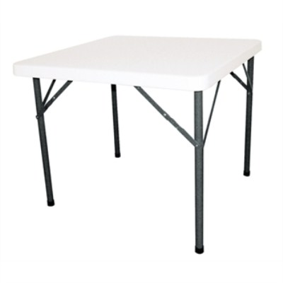 Halle Square Folding Table Fully Assembled