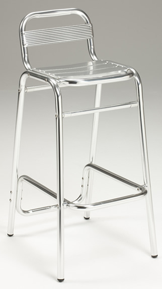 Aluminium Highstool - Indoor/Outdoor