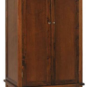 Bermont Dark Antiqued Softwood 2 Door