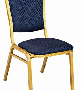 Hina Stacking Banqueting Chair - Aluminium Frame Padded Seat Fully Assembled