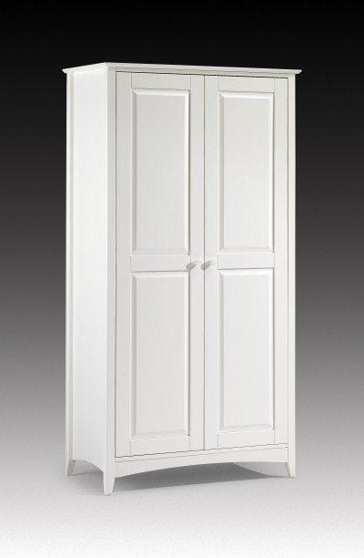 Treck White Stone 2 Door Wardrobe