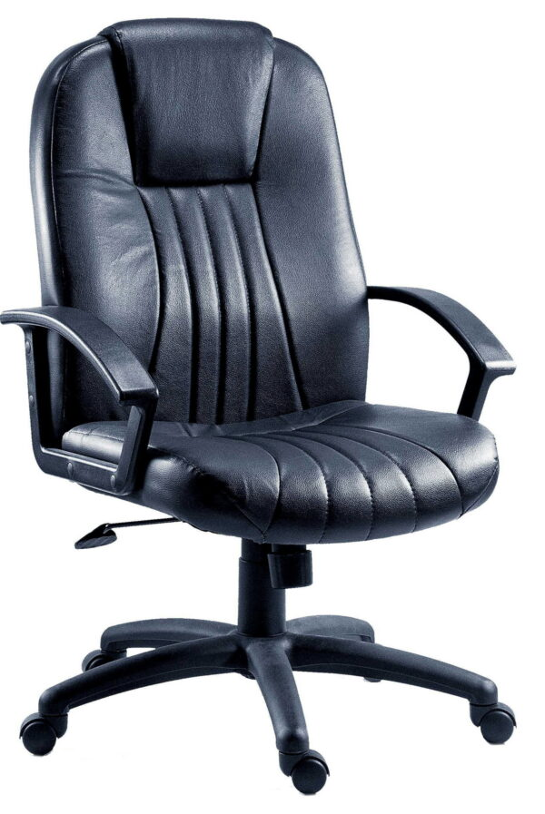 Dresaw Leather Faced Office Chair Executive