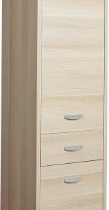 Claire Storage Cabinet - 1 Drawer 2 Door - Beech Melamine