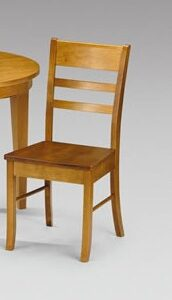Corsa Half Moon Wooden Kitchen Dining Set - Chairs Fully Assembled - Chair only