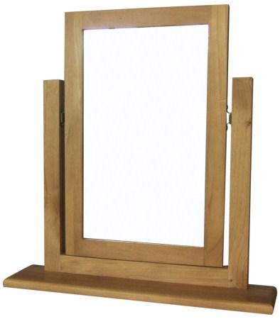 Weldarf Pine Frame Mirror - Vanity