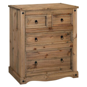 Pereza Mexican Pine 2 Plus 2 Drawer Chest