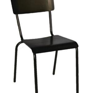 Zaprini Retro Urban Kitchen Dining Chair Oak Veneer Seat Industrial Style Fully Assembled Price Per Pair
