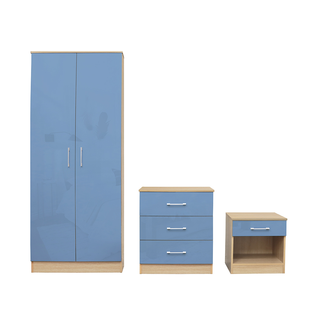 Darcy Bedroom Set Blue