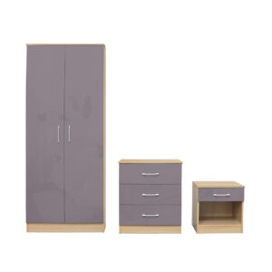 Darcy Bedroom Set Grey