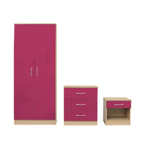 Darcy Bedroom Set Pink